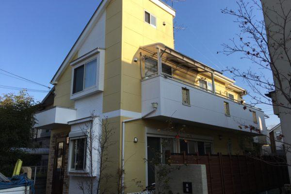 東久留米市 外壁塗装 屋根塗装 コーキング工事 ダイナミックトップ アレスクールF