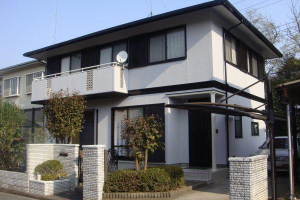 東京都東久留米市 外壁塗装 屋根塗装 プレミアムシリコン