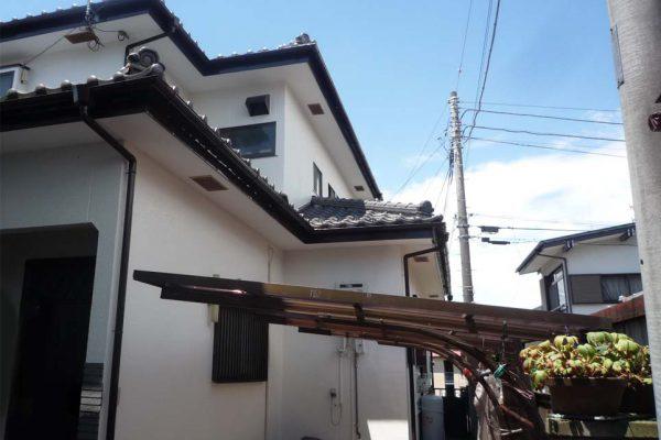 東京都東村山市 外壁塗装、カーポート屋根交換 プレミアムシリコン