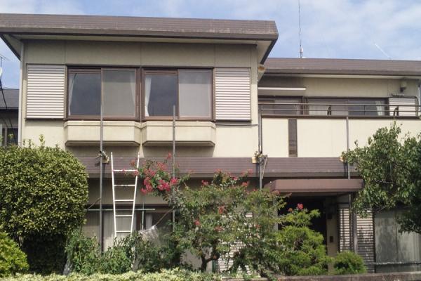 東京都小平市 外壁塗装 屋根塗装 付帯部塗装 クリーンマイルドシリコン