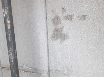 東京都武蔵村山市にて外壁塗装用の補修作業!