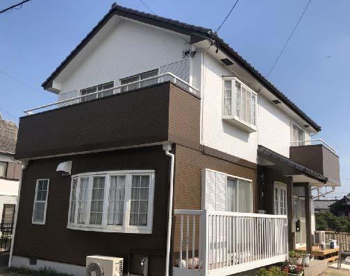 東京都武蔵村山市 外壁塗装、付帯部塗装 RSゴールドマイルドF