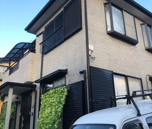 東京都清瀬市 外壁塗装 屋根塗装 3度塗り 水谷ペイント 快適サーモシリーズ 関西ペイント アレスダイナミックトップ