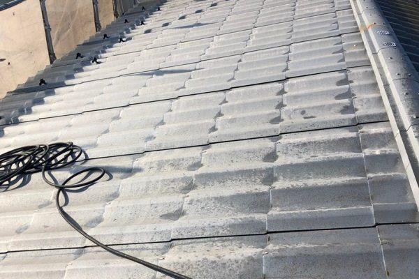 東京都清瀬市 外壁塗装 屋根塗装 仮説足場 高圧洗浄 養生