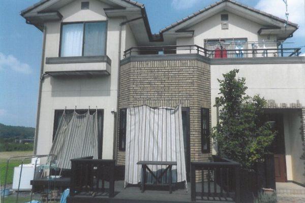 東京都東大和市 外壁塗装 シーリング打ち替え工事 バルコニー防水工事