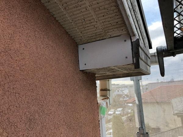 東京都東大和市 屋根塗装 軒天補修 スレート屋根 水谷ペイント 快適サーモ