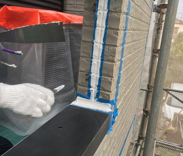 東京都東久留米市 外壁塗装 付帯部塗装 シーリング(コーキング)工事 オートンイクシード
