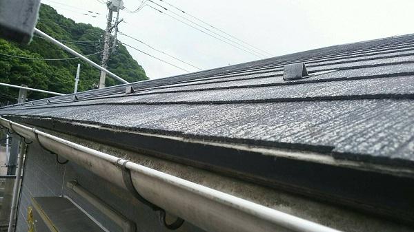 東京都清瀬市 屋根塗装 事前調査 症状 色褪せ 苔 汚れ