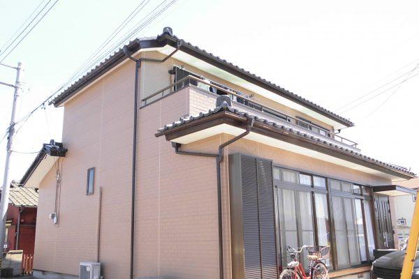 東京都武蔵村山市 タイル外壁塗装 コーキング打ち直し
