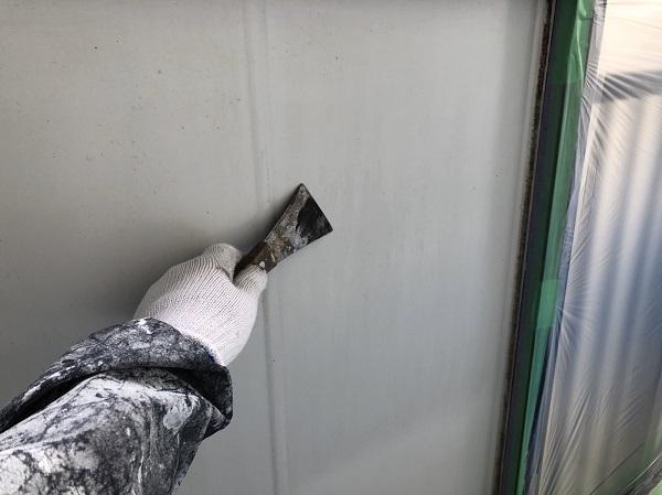 東京都東村山市 外壁塗装 屋根塗装 付帯部塗装 下地処理 ケレン作業 (2)