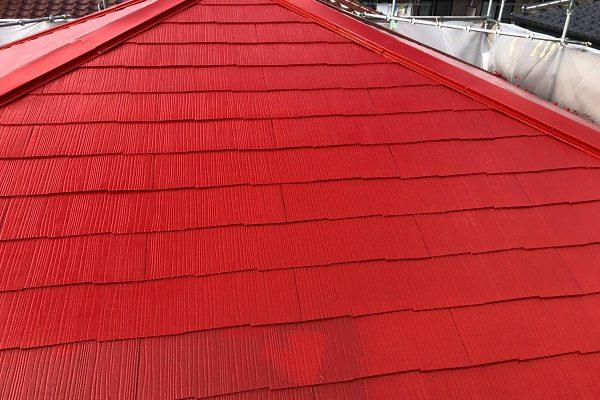 東京都小平市 屋根塗装 縁切り タスペーサー アステック スーパーシャネツサーモ