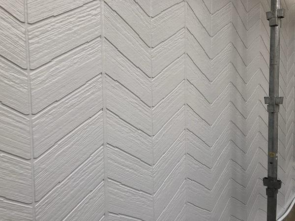 東京都清瀬市 外壁塗装 雨樋塗装 リフォームサミット専用塗料 RSシルバーマットSi 定期訪問サポート (2)