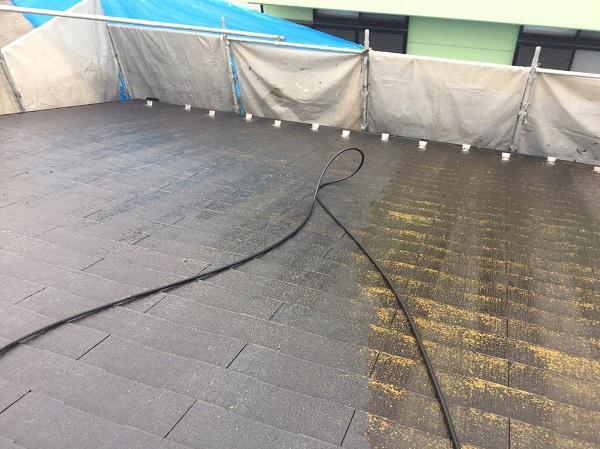 東京都東大和市 屋根塗装 外壁塗装 雨樋塗装 高圧洗浄 (3)