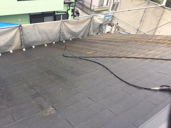 東京都東大和市 屋根塗装 外壁塗装 雨樋塗装 高圧洗浄 (2)