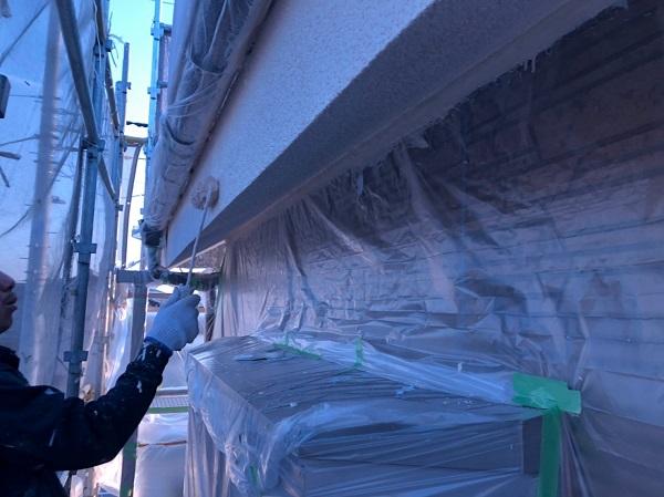 東京都東大和市 屋根塗装 外壁塗装 雨樋塗装 モルタル外壁 RSシルバーマットSi (1)