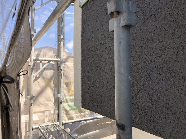 東京都東久留米市 外壁塗装 モルタル外壁 完工 定期訪問サポート (2)