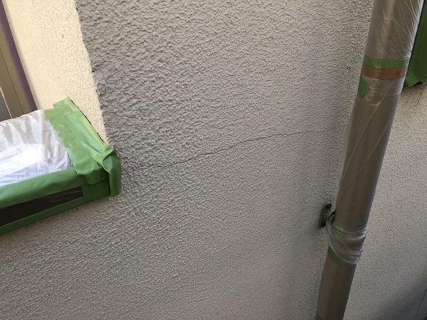 東京都東久留米市 外壁塗装 外壁の種類 モルタル クラック