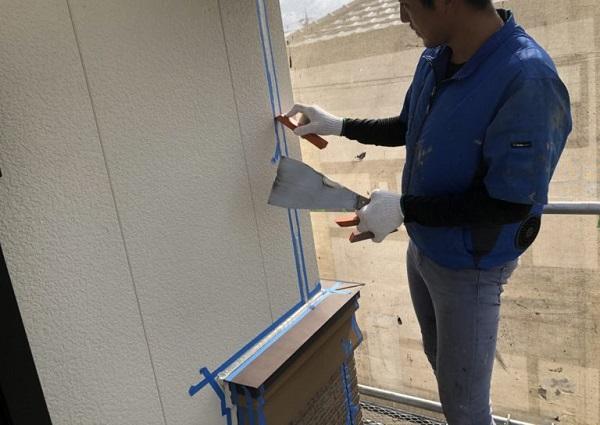 東京都小平市 屋根塗装 外壁塗装 下地処理 シーリング工事 オートンイクシード
