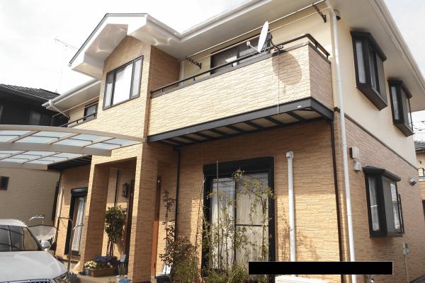 東京都東村山市 外壁塗装 屋根塗装 棟板金工事 コーキング工事