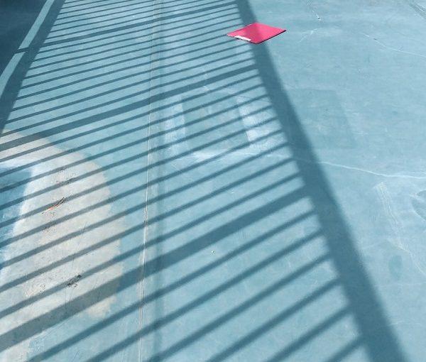 東京都清瀬市 屋上防水工事 ウレタン防水 通気緩衡工法