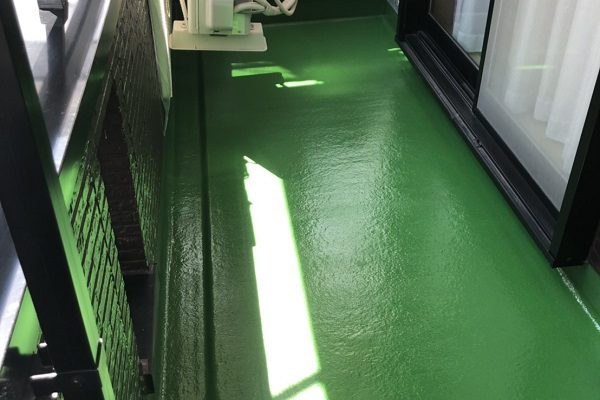 東京都東久留米市 外壁塗装 屋根塗装 防水工事 ベランダ FRP防水工事