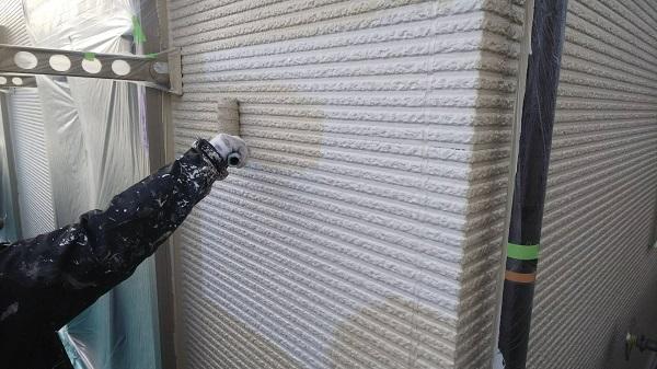 東京都清瀬市 外壁塗装 屋根塗装 外壁・軒天塗装 関西ペイント RSシルバーグロスSi 日本ペイント ケンエース (1)