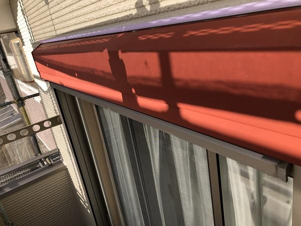 東京都清瀬市 外壁塗装 屋根塗装 シャッターボックス・幕板・雨樋塗装 (2)