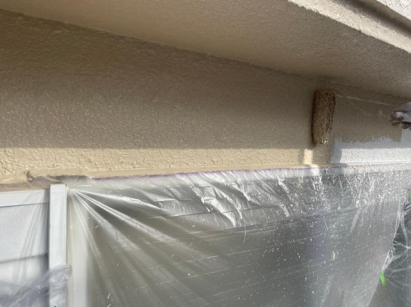 東京都東大和市 M様邸 外壁塗装 重ね塗りが必要な理由 アステック リファイン1000 (5)