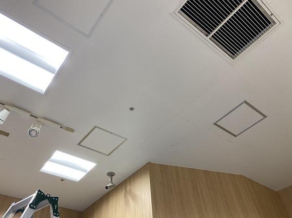 東京都小平市 内装天井補修工事 塗装工事や補修工事のDIYは可能か (2)