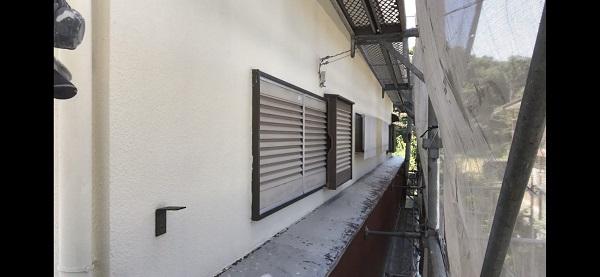 東京都東大和市 K様邸 屋根塗装・外壁塗装・付帯部塗装 (2)