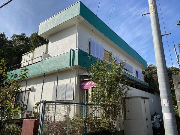 東京都東大和市 K様邸 屋根塗装・外壁塗装・付帯部塗装 (1)