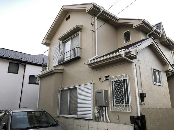 東京都東大和市 M様邸 雨樋交換工事 完工 定期訪問サポート (2)
