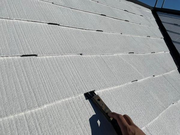 東京都東大和市 M様邸 屋根塗装 関西ペイント ヤネ強化プライマーEPO アレスクールシーラー RSルーフ2液F (1)