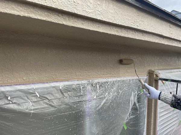 東京都東大和市 M様邸 外壁塗装 重ね塗りが必要な理由 アステック リファイン1000 (2)