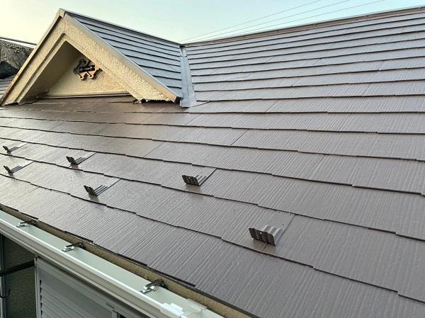東京都東大和市 M様邸 屋根塗装 関西ペイント ヤネ強化プライマーEPO アレスクールシーラー RSルーフ2液F (9)