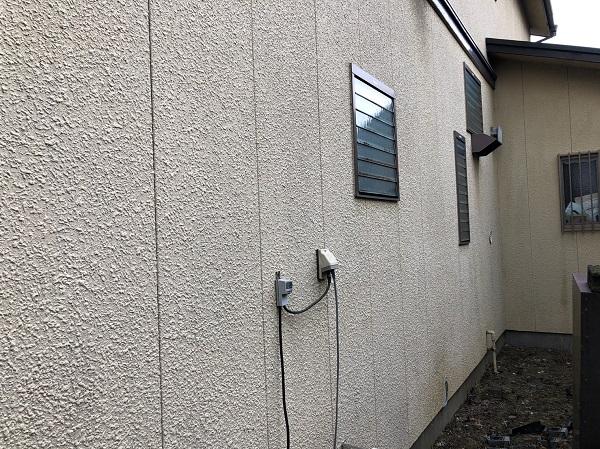 東京都東大和市 E様邸 外壁塗装 施工前 無料現場調査 カラーシュミレーション