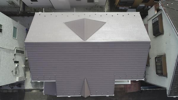 東京都東大和市 M様邸 外壁塗装・屋根塗装・棟板金交換・付帯部塗装・防水工事・雨樋交換