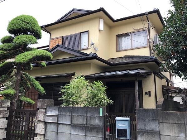 東京都東大和市 E様邸 外壁塗装・付帯部塗装 関西ペイント アレスダイナミックトップ