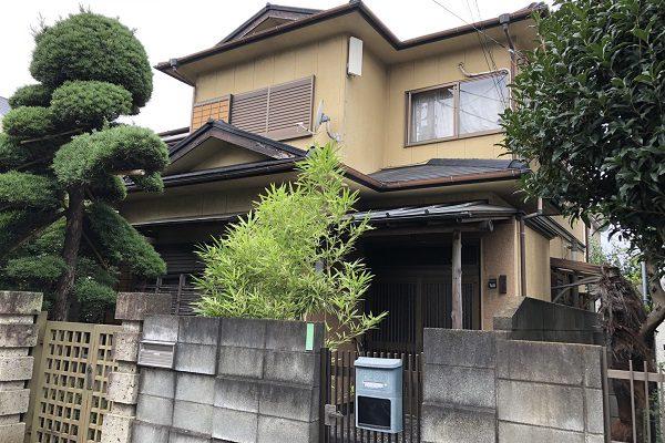 東京都東大和市 E様邸 外壁塗装 付帯部塗装
