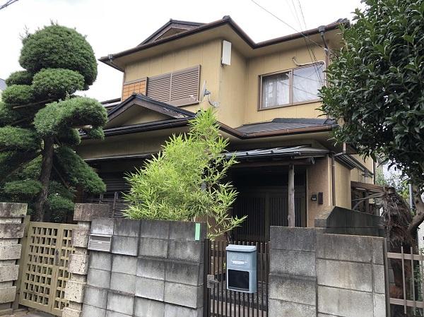 東京都東大和市 E様邸 外壁塗装・付帯部塗装 現場調査 チョーキング現象とは (2)