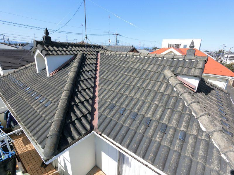 施工前 屋根